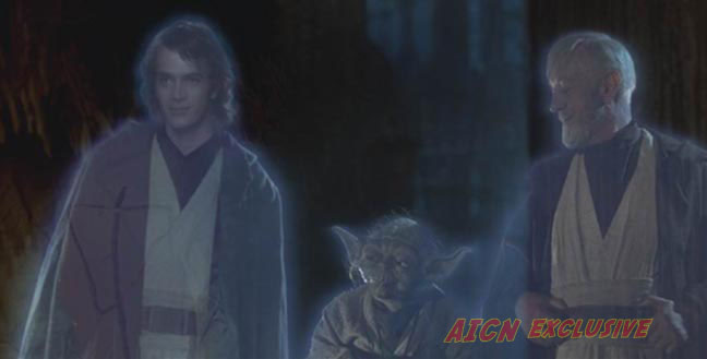 Yoda Force Ghost Hayden Christensen Force Ghost